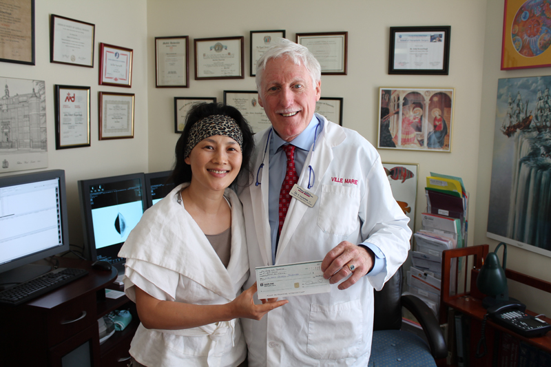 Donation to Ville Marie Oncology Foundation 2012