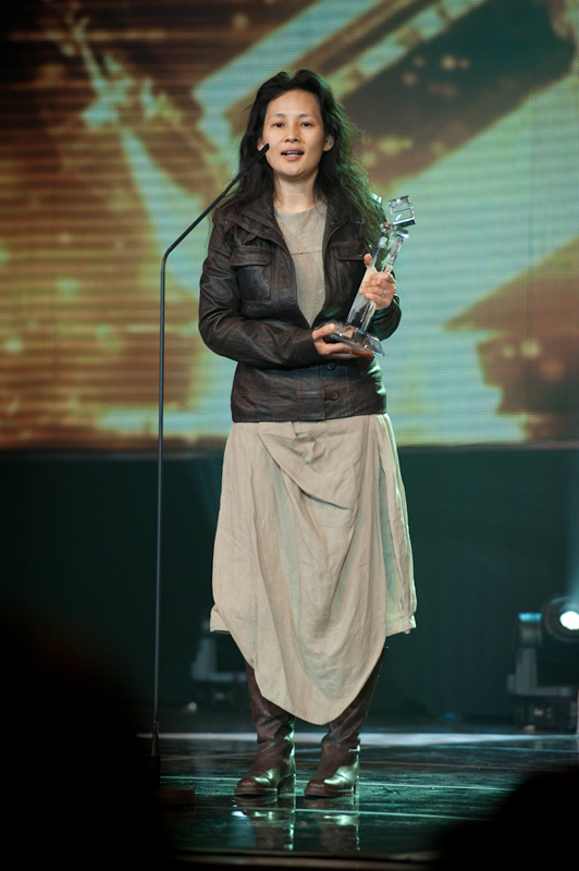 Janet Liu won the Integration Success Award of Mandarin Profile Awards 2012