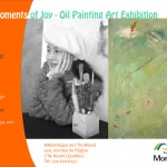 The Moments of Joy – Oil Painting Art Exhibition