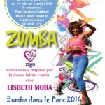 Zumba Summer Outdoor Event 2016