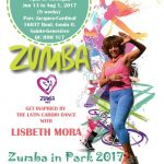 Zumba Summer Outdoor Event 2017